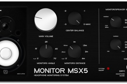 G-Sonique MSX5 – Headphone monitoring system released