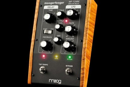 Moog MF-104M Analog Delay Introduced