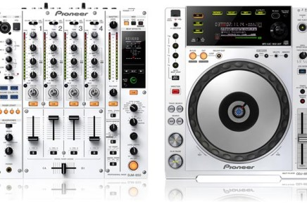 Pioneer CDJ-850-W and DJM-850-W Announced