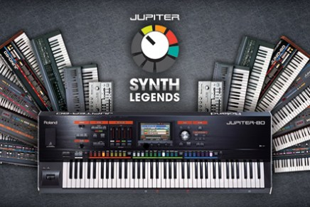 Roland unveils JUPITER Synth Legends Volume 1