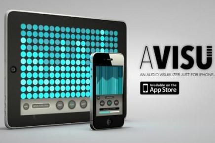Avisu Audio Visualizer app released