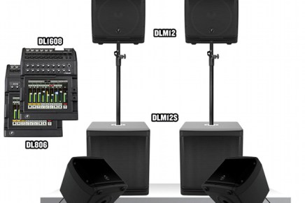 Mackie Delivers Next Level of PA Innovation and Technology with DL/DLM PA System