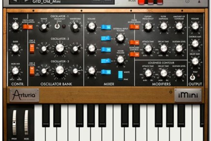 Minimoog for the iPad – iMini from Arturia