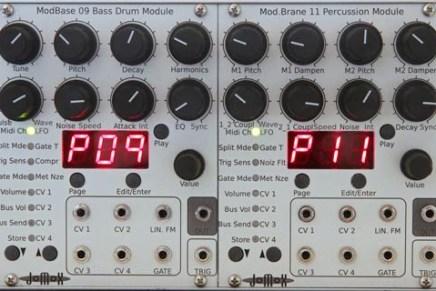 Jomox New Modules – MusikMesse video