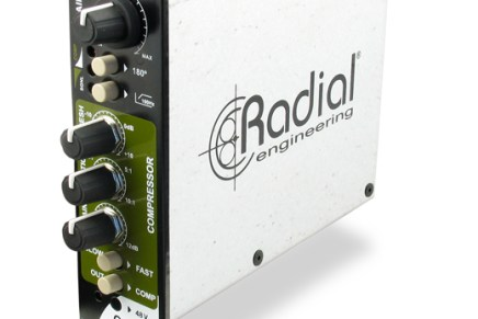 Radial Engineering introduces PreComp preamp and compressor