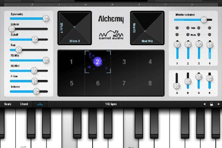Camel Audio updates mobile Alchemy synth (iOS) to version 2.1.3