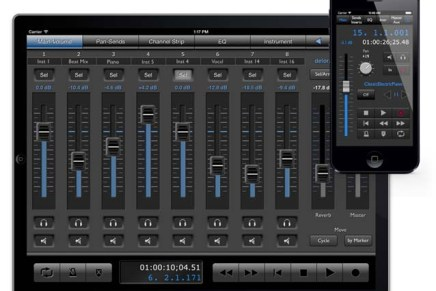 Control Logic Pro from your iPad with Delora lpTouch 2.0