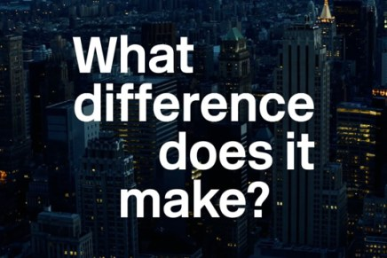 What Difference Does It Make? – Video Trailer