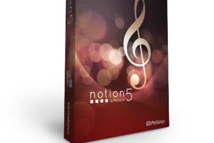 PreSonus Notion 5 Delivers Many New Tools