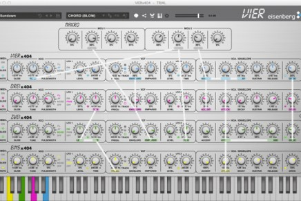Eisenberg Audio Releases VIER Software Synthesizer