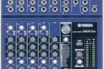 New Analog mixers from Yamaha