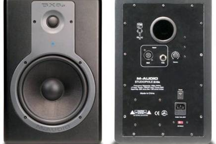 M-Audio updates BX8 monitors