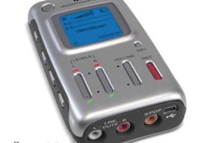 M-Audio releases MicroTrack mini recorder