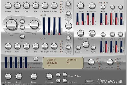 NWSynth released for Mac OS X