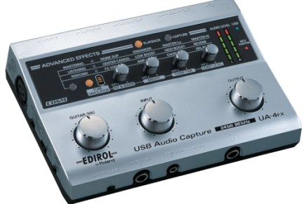 Edirol announces the UA-4FX