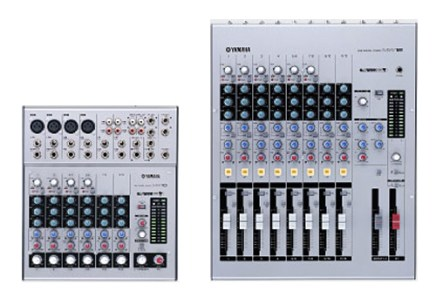 Yamaha introduces new Mixers MW10 and MW12