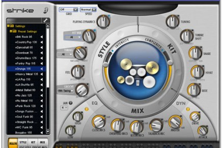 Digidesign announces Strike – drum plugin