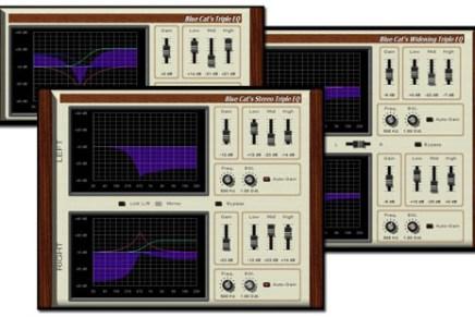 Blue Cat releases Triple EQ Series 2.0