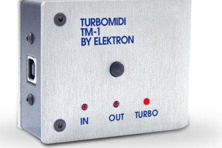 Elektron announces the TM-1 Turbo MIDI interface