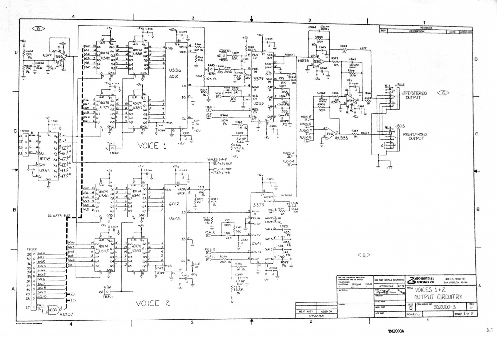 prophet wiring diagram