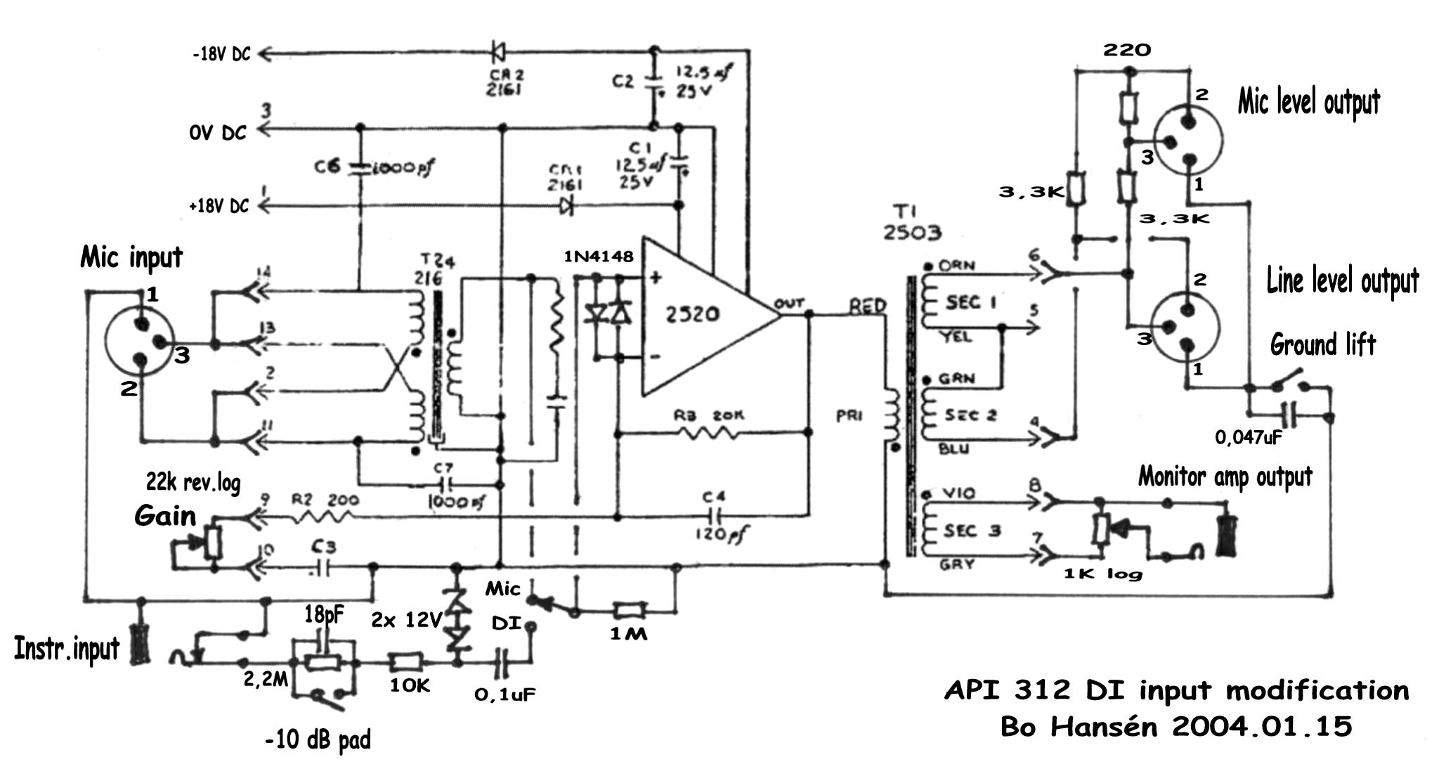 but here s the schematic to do the switching mod