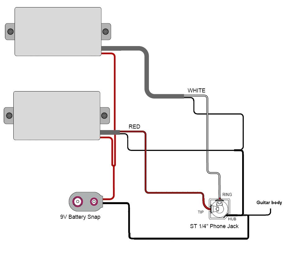 Guitar - Stereo-out - Active pickups, help? - Gearslutz