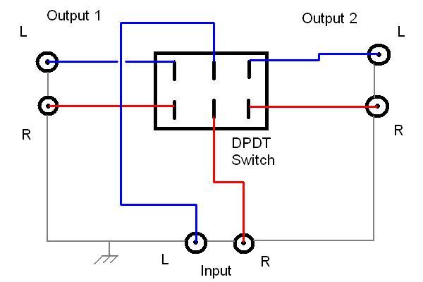 Speaker Switch Wiring - Wiring Diagram Online