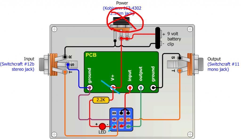 DIY Pedal input jack socket question - Gearslutz