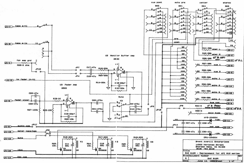 video fader circuit