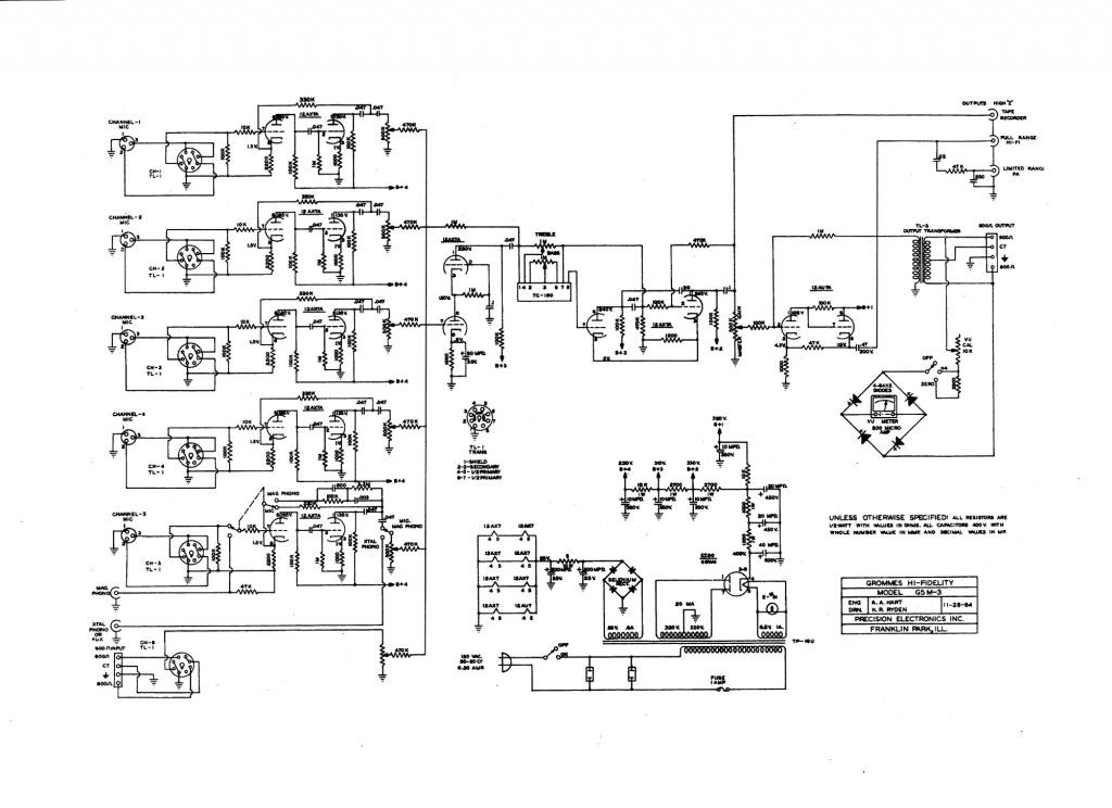 simple 3 line mixer circuit