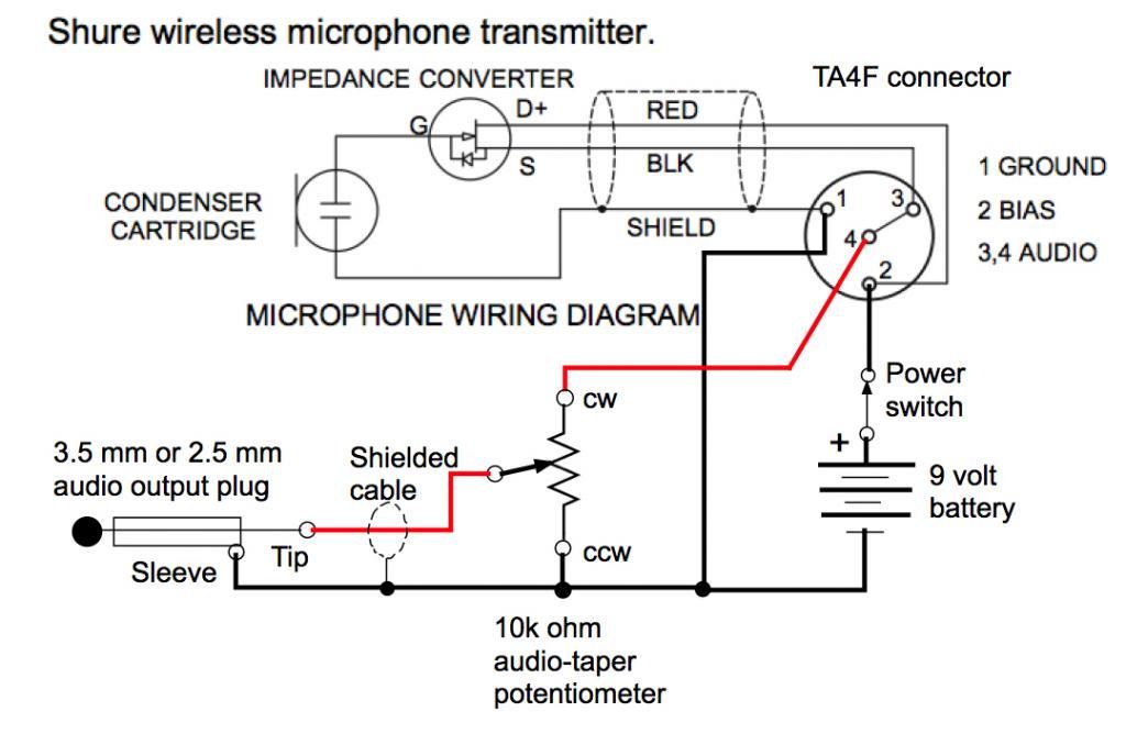 3 Pin Mic Wiring Diagram Download Wiring Diagram
