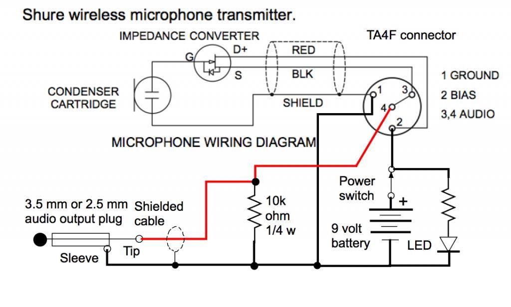 Shure Xlr 4 Pin Connector Wiring Diagram Ta4f Mini Xlr To 3 5mm Adapter Gearslutz Pro Audio