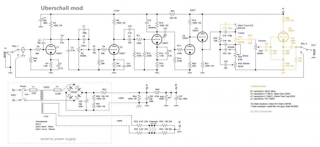 bogner uberschall schematic