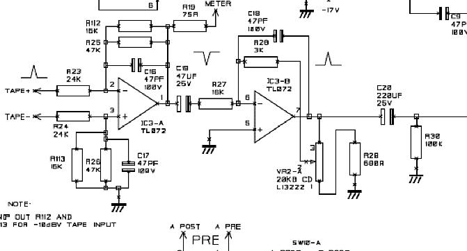 mixing desk schematic
