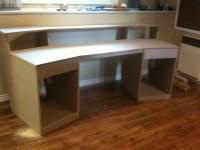 Studio Desk Plans Diy PDF Woodworking