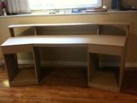 diy recording studio desk plans   woodideas