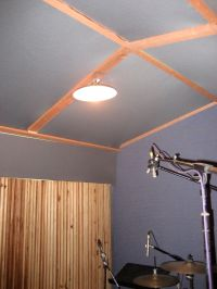 Anybody here cover their ceiling in fabric? - Gearslutz ...