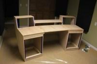 Wood Diy Desk Building PDF Plans