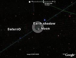 Lunar Eclipse in Google Earth
