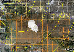 Osama possible locations in Google Earth