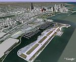 Meigs Field in Google Earth