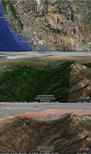 Bad colors in Google Earth