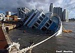 Capsized Cruise Ship in Korea