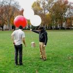 Balloon imagery in Google Earth