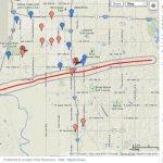 Moore, Oklahoma in Google Earth