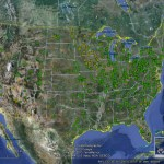 Using Google Earth to find water for power plants