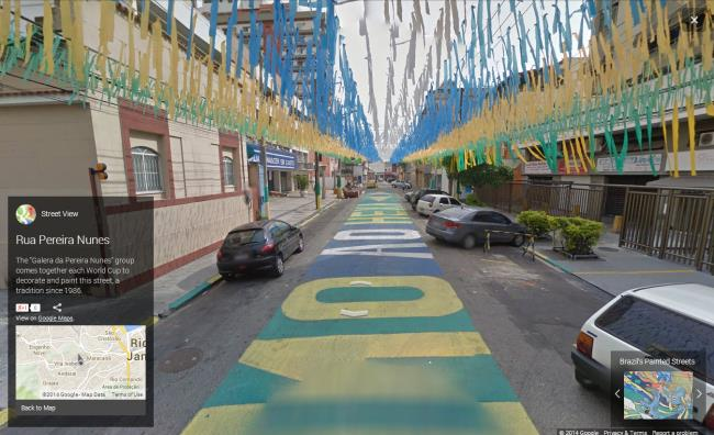 painted streets