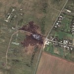 Tracking Flight MH17 in Google Earth