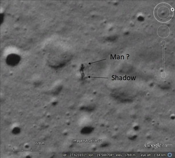 Human figure and shadow