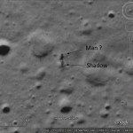 An alien on the Moon?